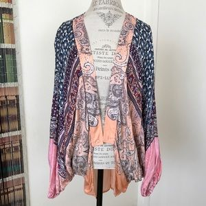 Free People Cocoon Kimono Cover Up